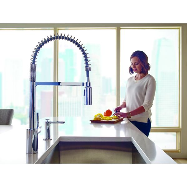 with faucets hole commercial series jewel kitchen sprayer single faucet and spring spout function