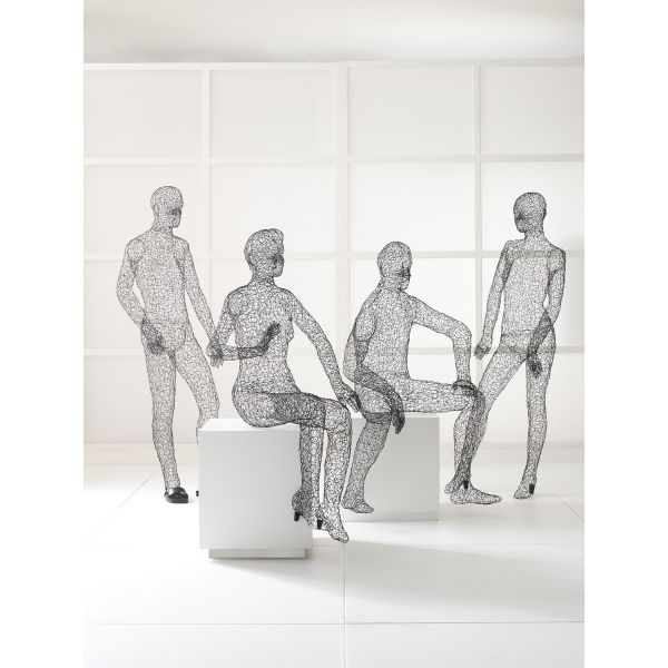 Design Journal, Archinterious | Wire Mannequin Collection by ...