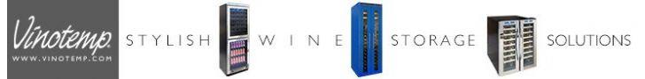 Vinotemp International: Exciting Wine Storage Solutions!