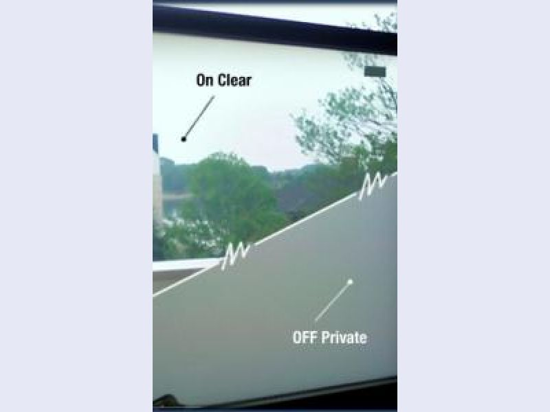 Switchable Privacy Glass - Picture Window