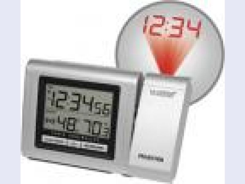 WT-5110Projection Alarm Clock with IN Temp & Humidity