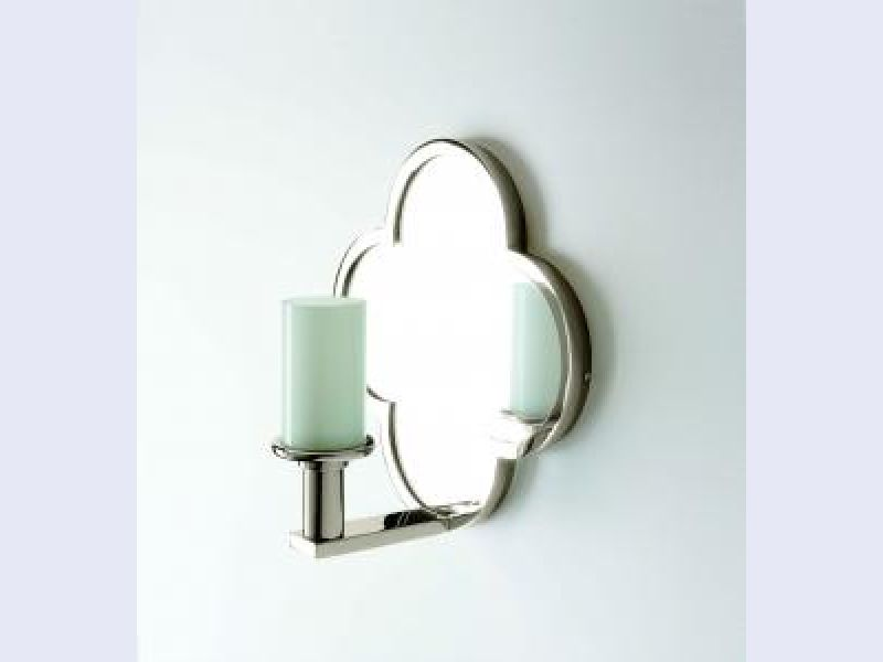 Lawson Wall Mounted Clover Arm Mirror Sconce