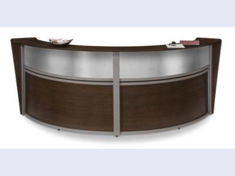 55292-Walnut with Polycarbonate Top