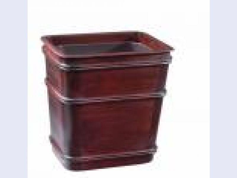 Wastebasket Classic w/inst OX