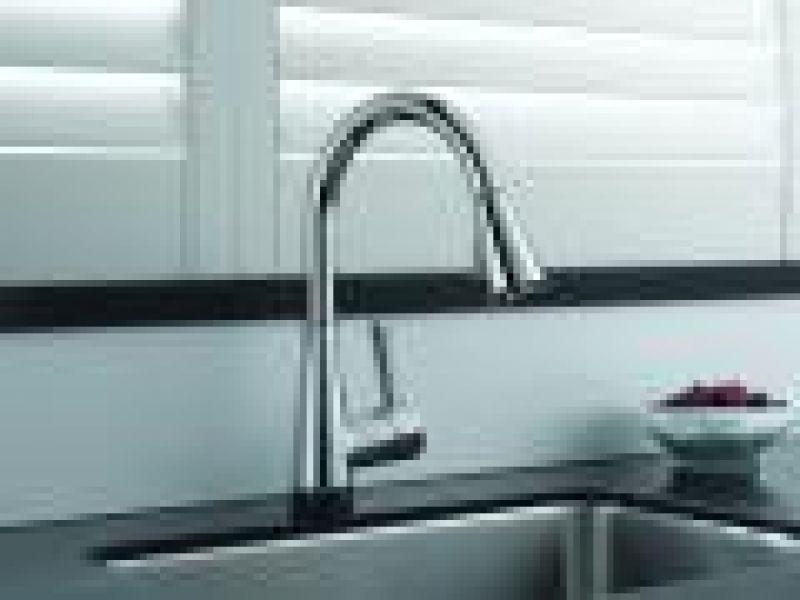 Venuto Kitchen Faucet with SmartTouch by Brizo