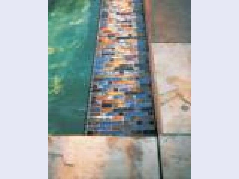 Weave Glass Mosaic Tiles