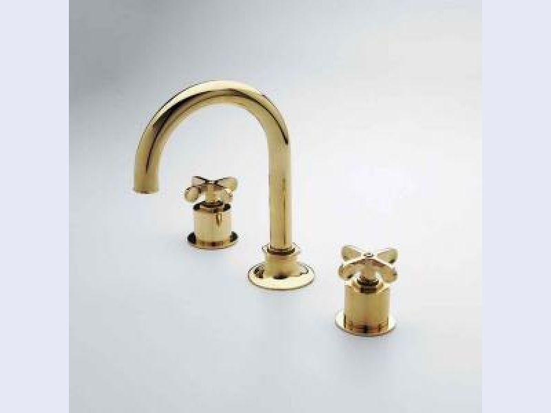 Henry Gooseneck Deck Mounted Lavatory Faucet