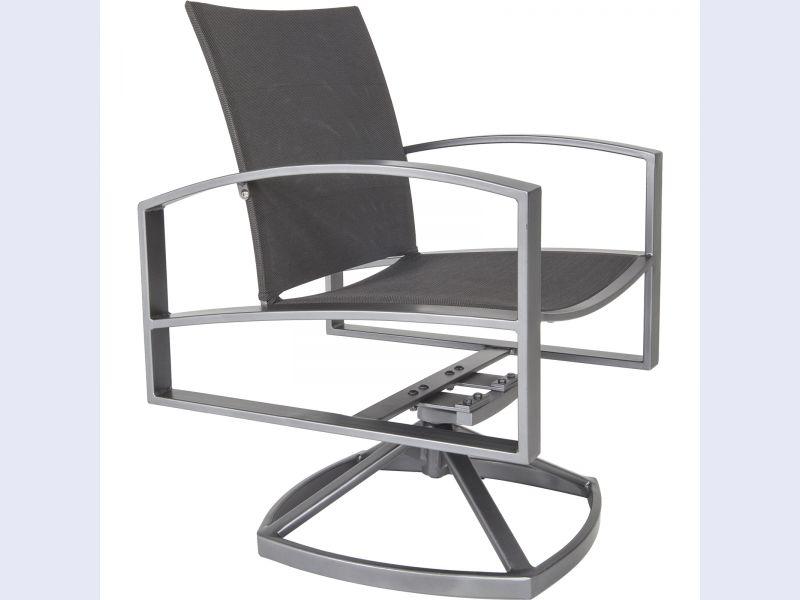 Pacific Swivel Rocker Dining Chair