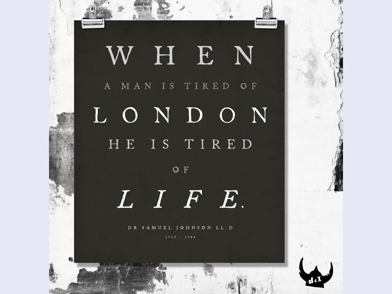 Literary London Art Collection