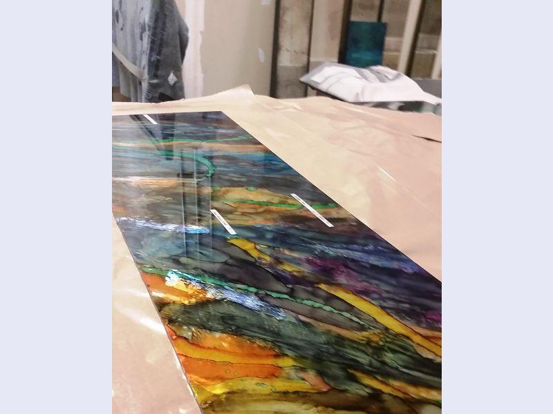 Alch art glass