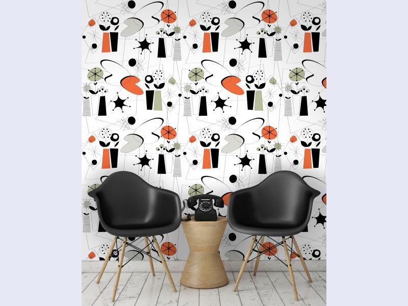 Atomic Wallpaper (colour)