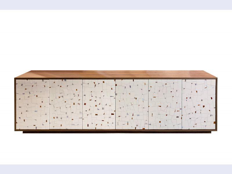 Platform Terrazzo 6-Door Buffet
