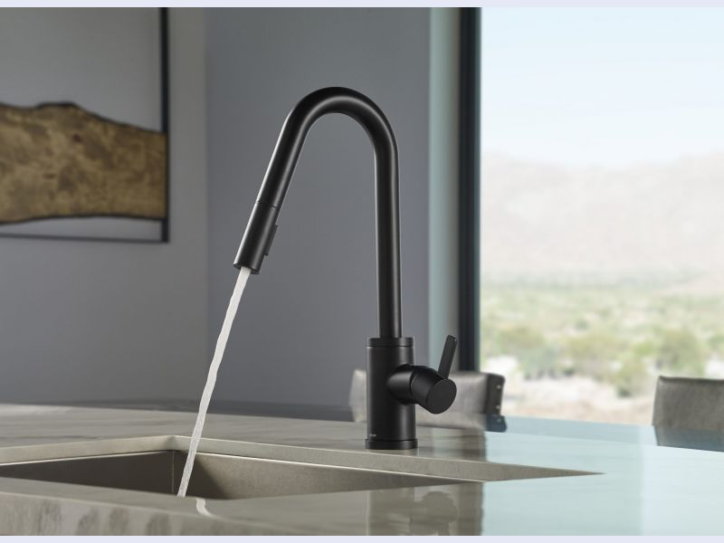 Amalfi™ Single Handle Pull-Down Kitchen Faucet