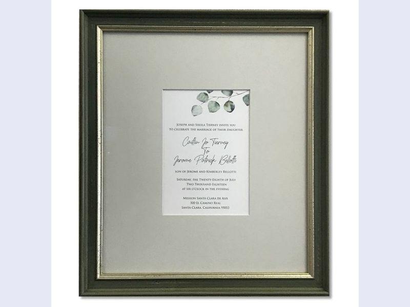 Custom Wedding Frames