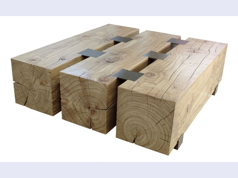 Three Timber Table