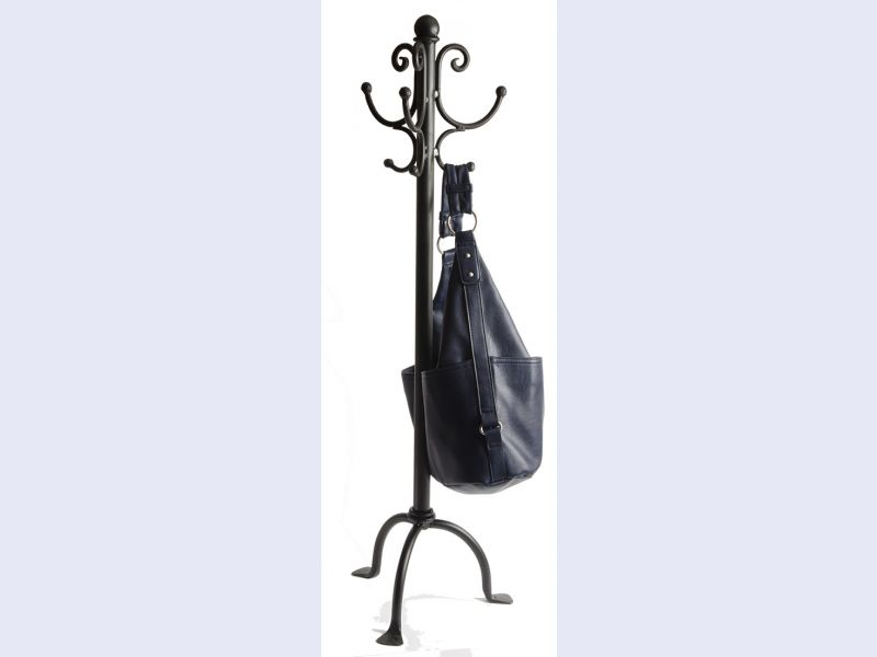 Scroll,  Tableside Handbag Stand