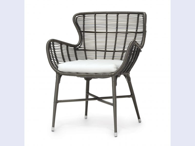 Palermo Outdoor Chair, Espresso