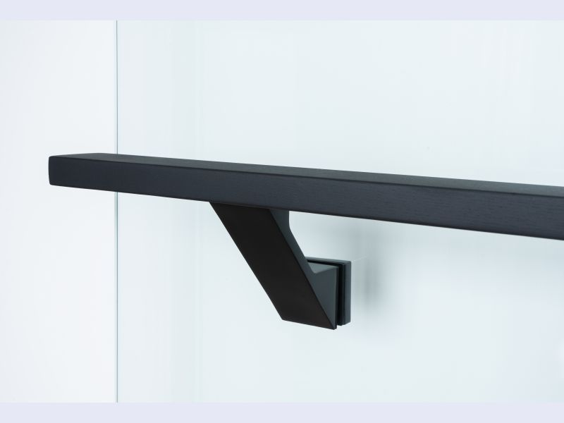 VS-Glass mounted handrail brackets
