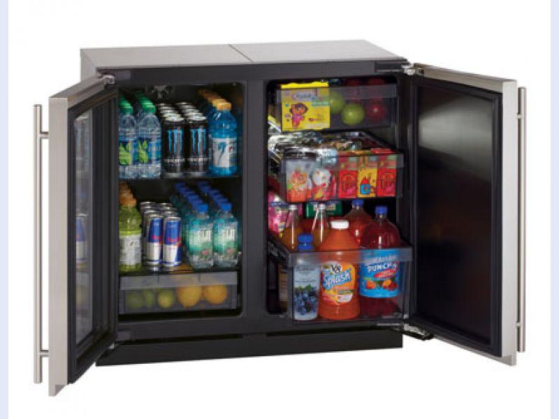 Modular 3000 Series 36 Custom Glass Door Refrigerator / Solid Door Refrigerator - 3018RGL/3018RF