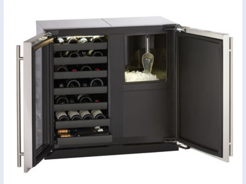 Modular 3000 Series 36 Custom Wine Captain Model / Clear Ice Machine - 3018WC/3018CLR