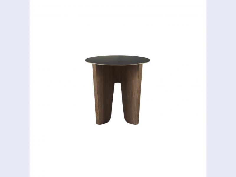 Barbara Barry Coyote Side Table by McGuire
