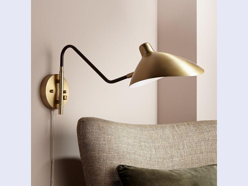 Colborne Plug-In Swing Arm Wall Lamp