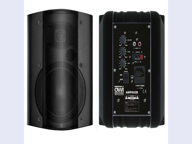 AMP602  - 2way 6 inch Woofer