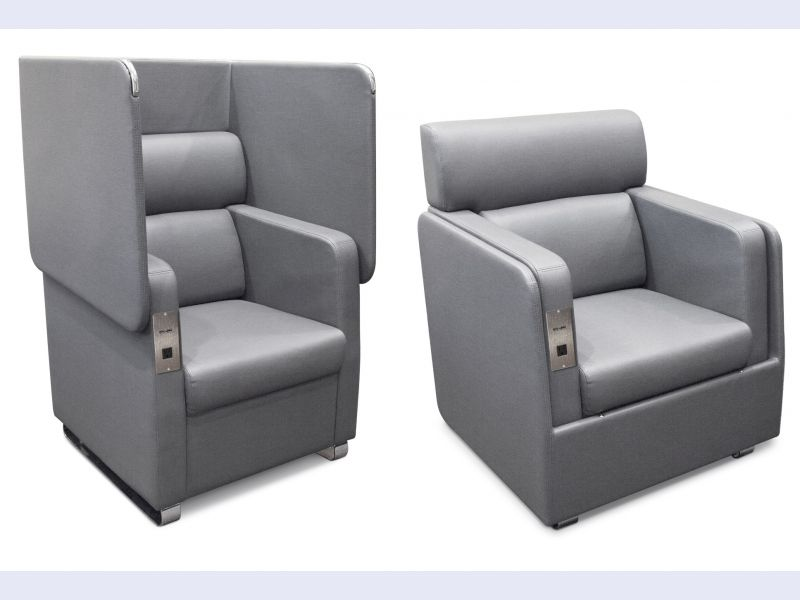 The OFM Morph Series Soft Seating Chair