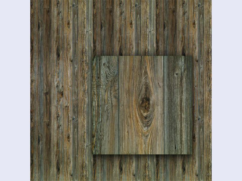 Weathered Cedar Plywood Planking