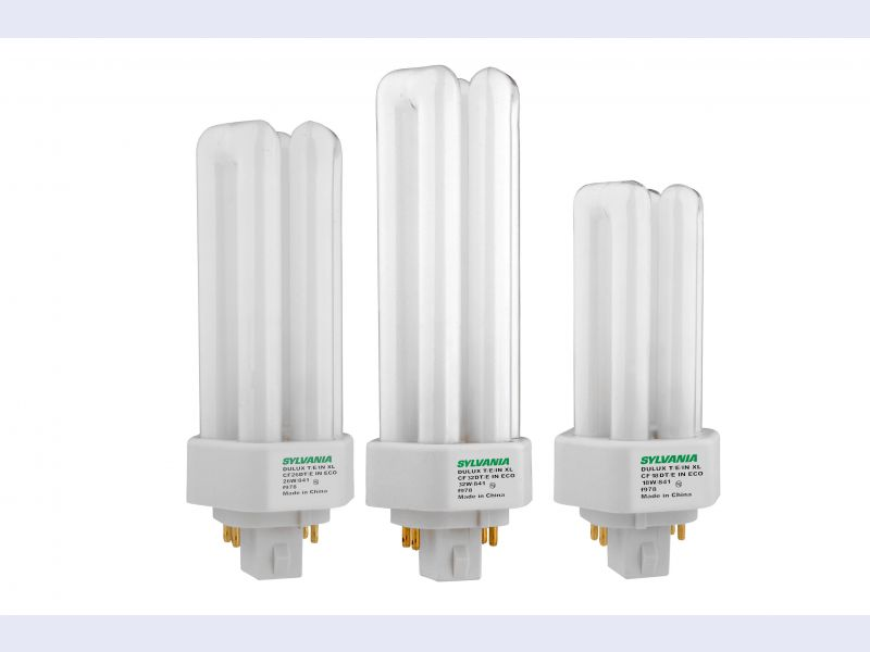 SYLVANIA DULUX® T/E/IN XL SUPERSAVER® ECOLOGIC® EXtended Life compact fluorescent lamps