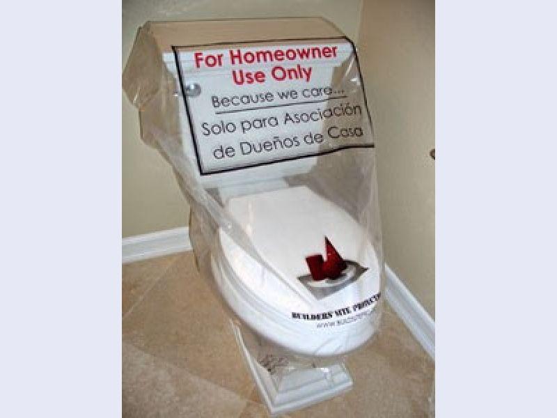 Toilet Sheath