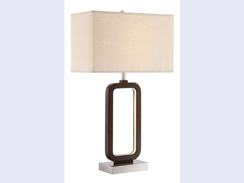LS 23022 Leonard LED Accented Table Lamp