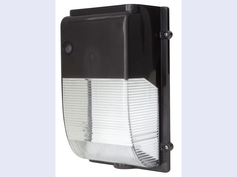 Mini LED Wallpack - Polycarbonate Lens