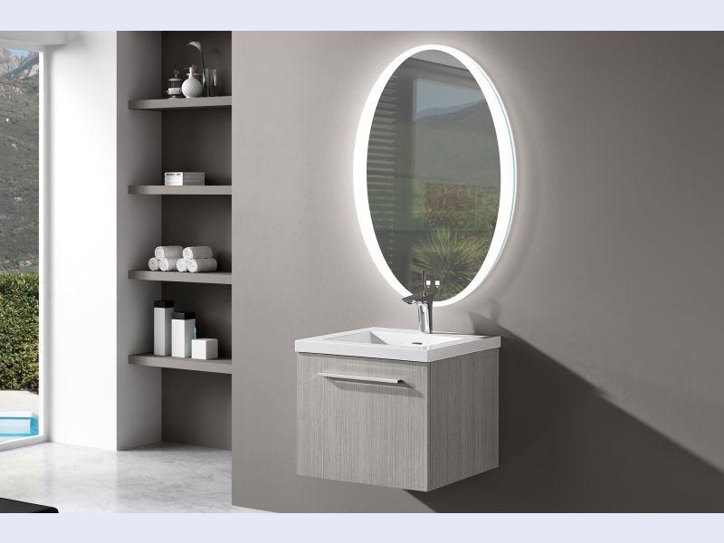 The Twilight Illuminated Slique™ Mirror Collection