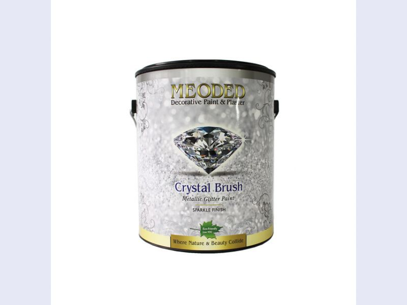Crystal Brush Glitter Paint