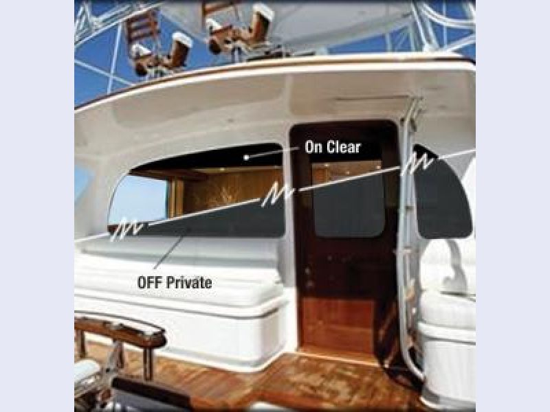 Switchable Privacy Glass - Yacht