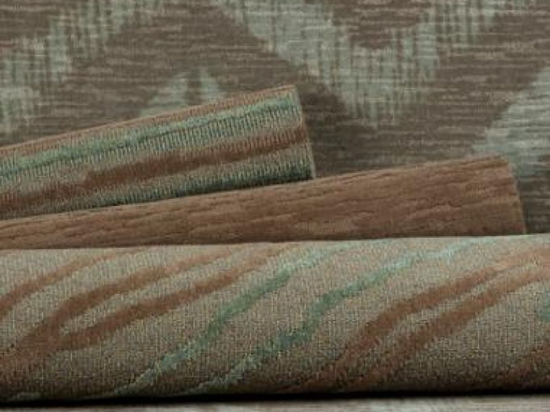 New Terrain Print & Tufted