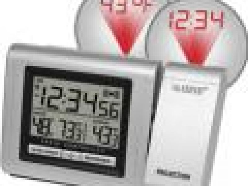 WT-5120Projection Alarm Clock with Weather