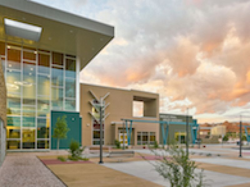 Navajo Tribal Utility Authority\'s Office Blends Tubelite\'s Modern, High-performance Systems with Traditional, Culturally Inspired Design