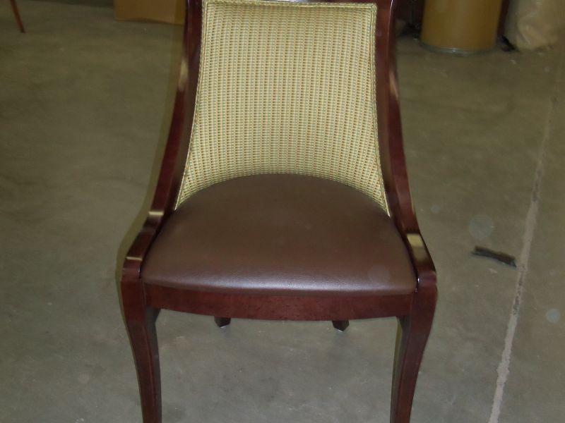 Custom Wood Restaurant Dining Chair