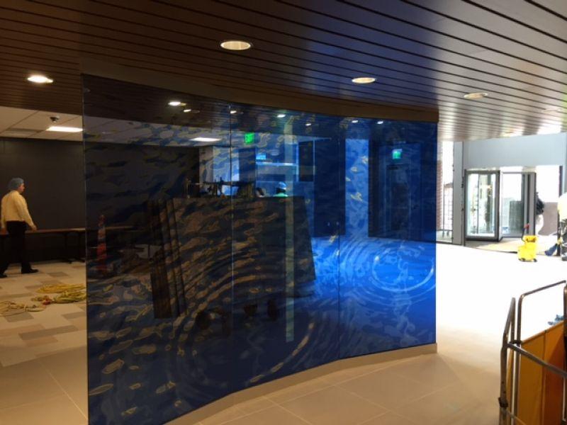 Art Glass Wall