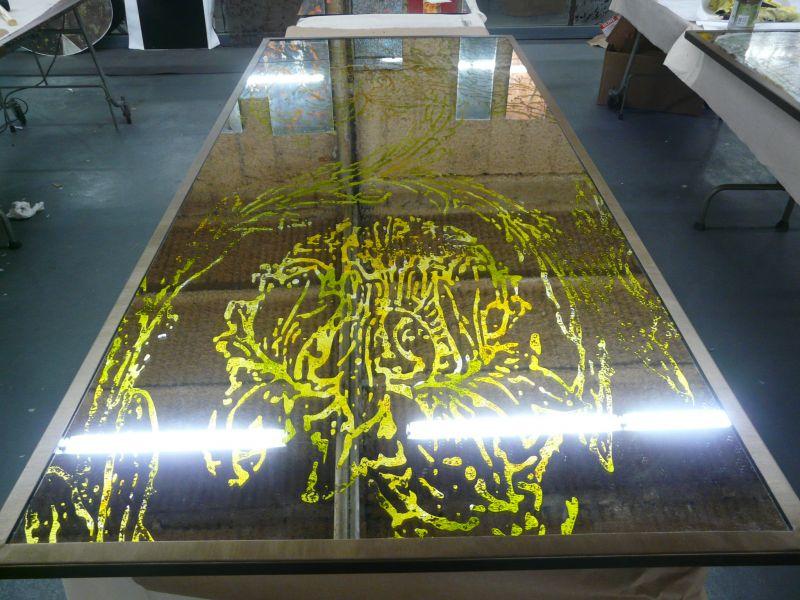 Historic Omni Severin flower and vine mirrors