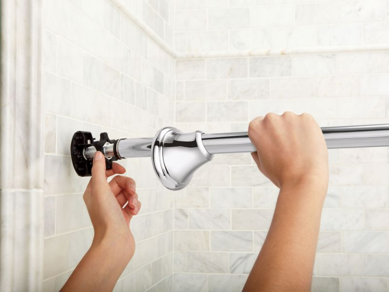 Moen  Tension Curved Shower Rod