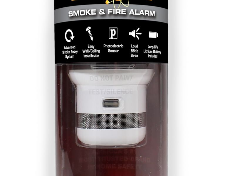 First Alert Atom Smoke and Fire Alarm