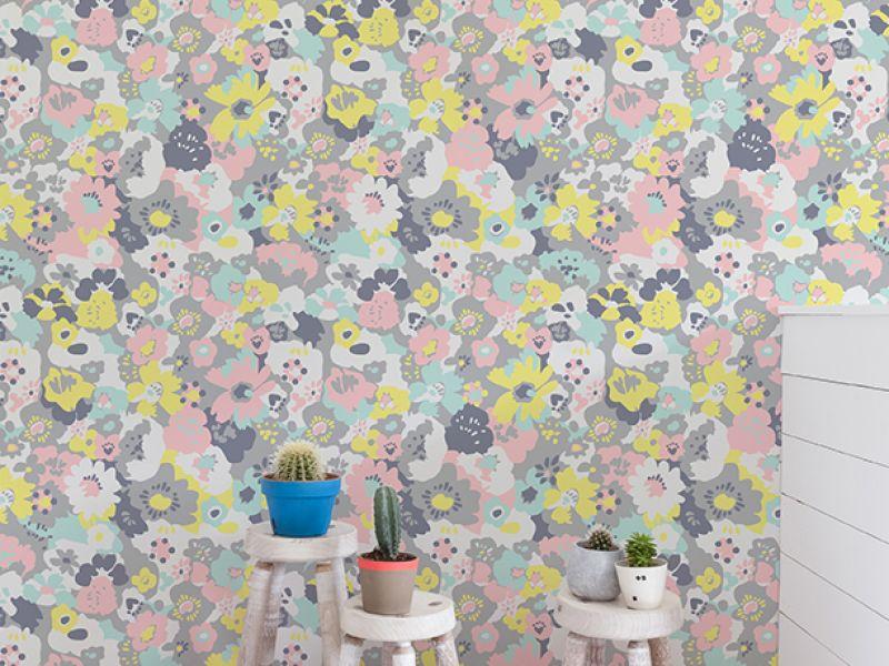Aimee Wilder 'Wildflower' Wallpaper