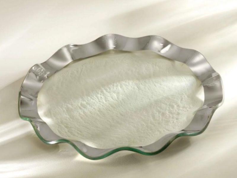 Annieglass Ruffle Dinner Plate