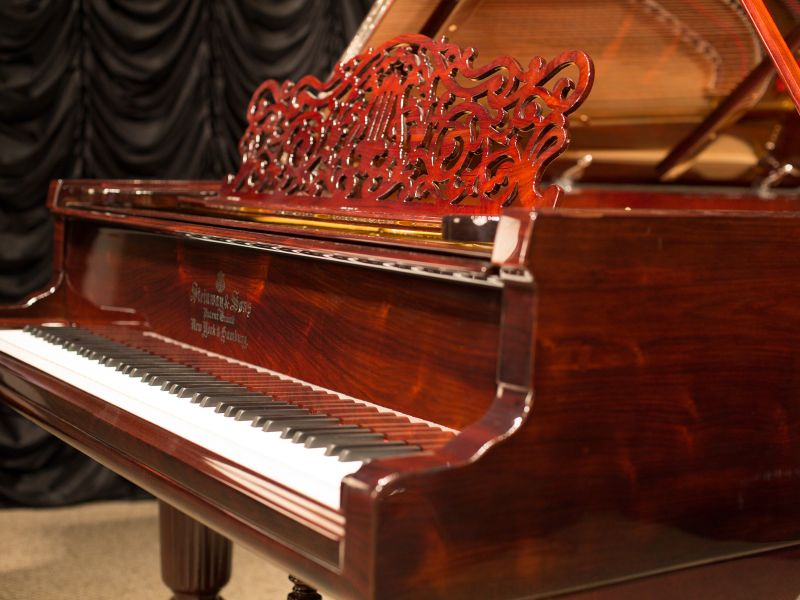 Antique Piano Shop's Steinway & Sons Model C Rosewood Concert Grand Piano
