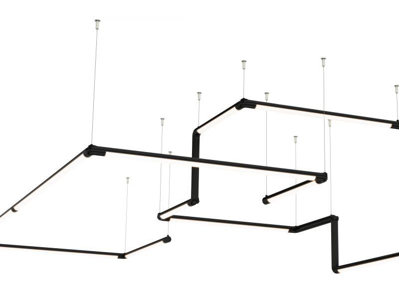 Pipeline 1 LED Suspension