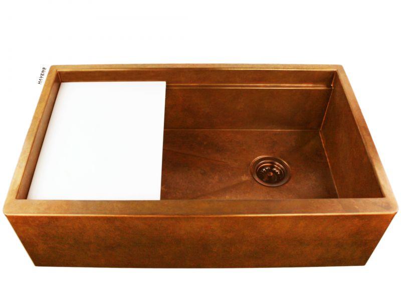 Legacy Copper Sink - Apron Front - Under Mount