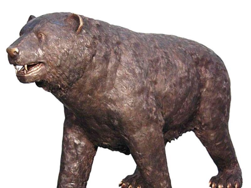 Bronze School Mascot Statues